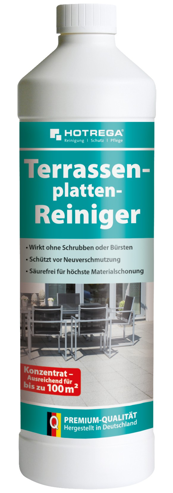 hotrega terrassenplatten reiniger 1000 ml flasche. Black Bedroom Furniture Sets. Home Design Ideas